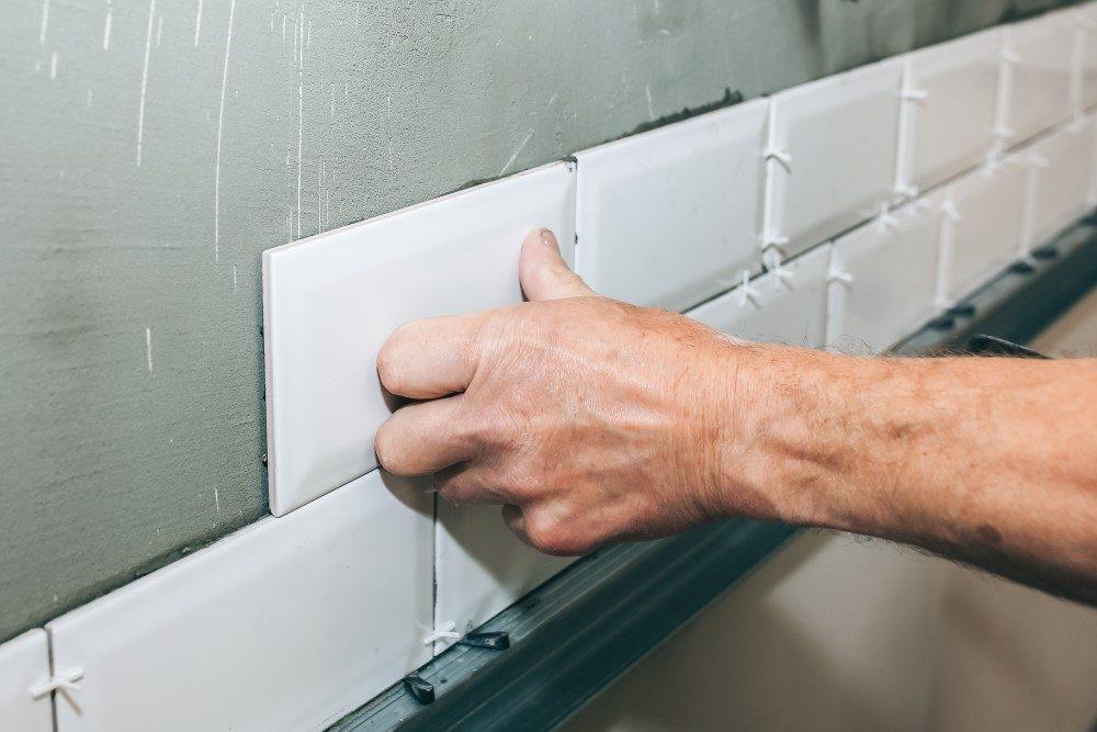 Putting tiles